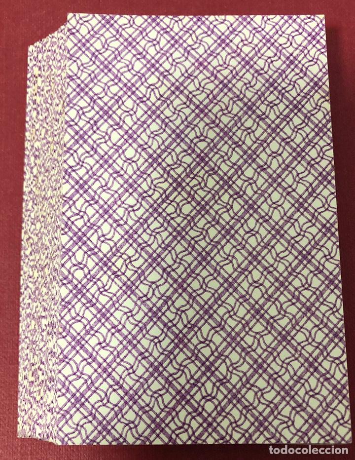Barajas de cartas: Fantástica baraja de naipes de finales de S.XIX, de Torras y Lleo. Flor de cuño. - Foto 7 - 222123486