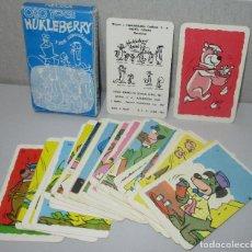 Barajas de cartas: BARAJA INFANTIL OSO YOGI, HUKLEBERRY Y SUS COMPAÑEROS, HANNA BARBERA, NEGSA NAIPES COMAS 1967. Lote 222148406