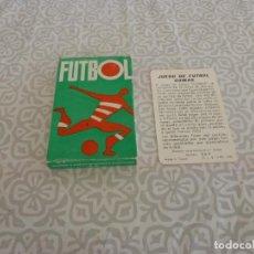 Barajas de cartas: (LLL) BARAJA DE CARTAS ORIGINAL,ANTIGUA(AÑOS 70-80) SOBRE FUTBOL COMPLETA Y PERFECTO ESTADO. Lote 222152076
