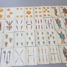 Barajas de cartas: ESTUCHE BARAJA HERACLIO FOURNIER 1868. Lote 222242315