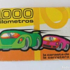 Barajas de cartas: BARAJA NAIPES FOURNIER 1000 KILOMETROS, LA CANASTA DE LA CARRETERA 1966. Lote 222259821