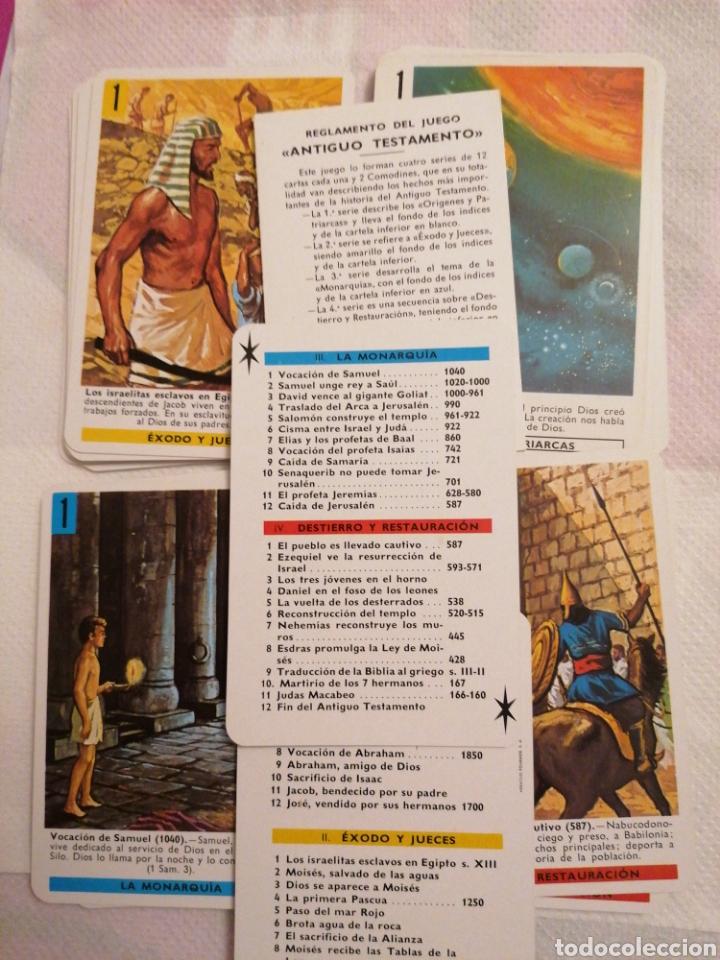 Barajas de cartas: Cartas antiguo testamento 1969 - Foto 2 - 222265206