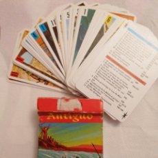 Barajas de cartas: CARTAS ANTIGUO TESTAMENTO 1969. Lote 222265206