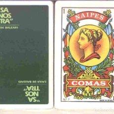 Barajas de cartas: SA NOSTRA - CAIXA DE BALEARS - BARAJA ESPAÑOLA 50 CARTAS. Lote 222301542