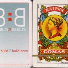 Barajas de cartas: BUILD 2 BUILD - BARAJA ESPAÑOLA DE 40 CARTAS. Lote 222302706