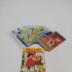 Barajas de cartas: CARTAS HEIDI LAS 4 ESTACIONES. Lote 222318743