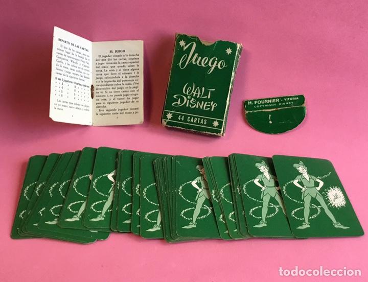 Barajas de cartas: Antiguo juego de cartas Peter Pan Fournier - Foto 2 - 222364423