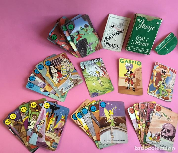 Barajas de cartas: Antiguo juego de cartas Peter Pan Fournier - Foto 4 - 222364423