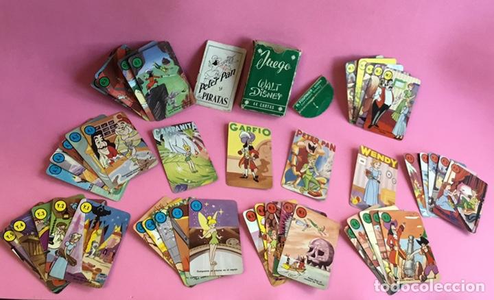 ANTIGUO JUEGO DE CARTAS PETER PAN FOURNIER (Juguetes y Juegos - Cartas y Naipes - Barajas Infantiles)