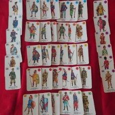 Barajas de cartas: BARAJA INFANTIL DE 1970 EL JUEGO DE LOS UNIFORMES -VINTAGE. Lote 222380316