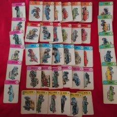 Barajas de cartas: BARAJA INFANTIL DE 1968 EL JUEGO DE LOS COCHES- VINTAGE. Lote 222380683