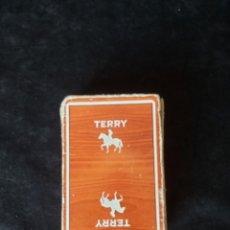 Barajas de cartas: BARAJA CARTAS FOURNIER PUBLICIDAD TERRY. Lote 222511282