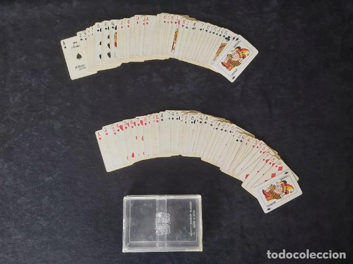 2 BARAJAS 201 AVION FOURNIER (Juguetes y Juegos - Cartas y Naipes - Barajas de Póker)