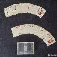 Barajas de cartas: 2 BARAJAS 201 AVION FOURNIER. Lote 222511973