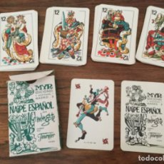 Barajas de cartas: BARAJA CARTAS NAIPES FOURNIER MINGOTE 1967. Lote 222579132