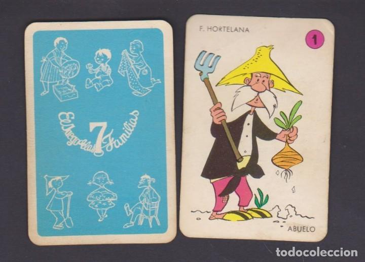 BARAJA INFANTIL COMPLETA LAS 7 FAMILIAS DE EDICIONES RECREATIVAS (Juguetes y Juegos - Cartas y Naipes - Barajas Infantiles)