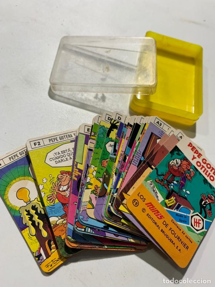 BARAJA DE CARTAS PEPE GOTERA Y OTILIO LOS MINIS DE FOURNIER (Juguetes y Juegos - Cartas y Naipes - Barajas Infantiles)