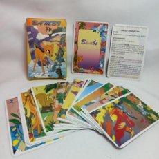 Barajas de cartas: BARAJA DE CARTAS BAMBI NUNCA USADA Y COMPLETA DE 1988. Lote 222866421
