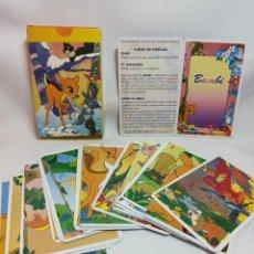 Barajas de cartas: BARAJA DE CARTAS BAMBI Y COMPLETA DEL 88 NUNCA USADA. Lote 222866816