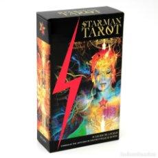 Barajas de cartas: 78 CARTAS TAROT TAXMAN DE DAVID BOWIE STARMAN. Lote 222912905