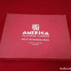 Barajas de cartas: JUEGO BARAJA CARTAS NAIPES AMÉRICA PLAYING CARDS. Lote 222913632