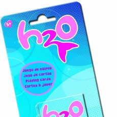 Jeux de cartes: BARAJA INFANTIL SIRENAS H2O JUST ADD WATER! SERIE TELEVISIVA ORIGINAL, NUEVA E IMPECABLE. Lote 223145471