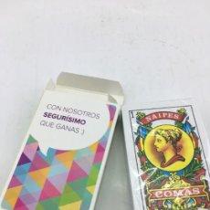 Barajas de cartas: BARAJA DE NAIPES ESPAÑOLA - NAIPES COMAS - PRECINTADA - PUBLICIDAD DE SEGUROS EL CORTE INGLES. Lote 223313496