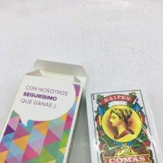 Barajas de cartas: BARAJA DE NAIPES ESPAÑOLA - NAIPES COMAS - PRECINTADA - PUBLICIDAD DE SEGUROS EL CORTE INGLES. Lote 223313715
