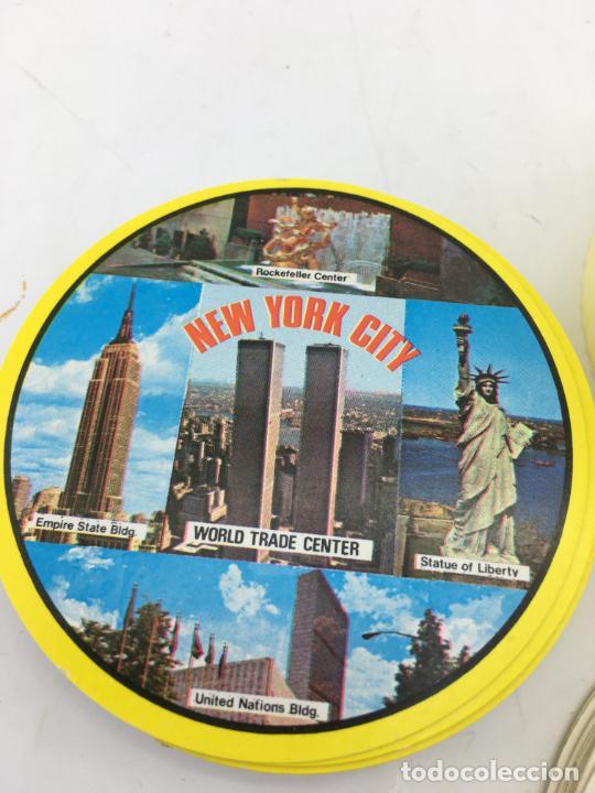 Barajas de cartas: BARAJA DE CARTAS DE POKER REDONDAS - ROUND PLAYING CARDS - RECUERDO DE NEW YORK CITY - Foto 2 - 223315341
