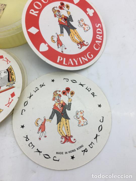 Barajas de cartas: BARAJA DE CARTAS DE POKER REDONDAS - ROUND PLAYING CARDS - RECUERDO DE NEW YORK CITY - Foto 3 - 223315341