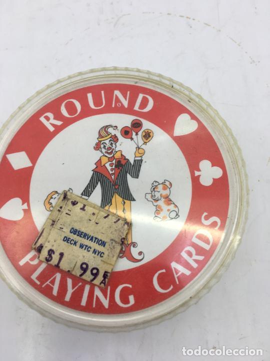 Barajas de cartas: BARAJA DE CARTAS DE POKER REDONDAS - ROUND PLAYING CARDS - RECUERDO DE NEW YORK CITY - Foto 4 - 223315341