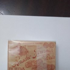 Barajas de cartas: BARAJA VIUDA E HIJOS DE HERACLIO FOURNIER VITORIA RUEDA ROJA PRINCIPIOS SIGLO XX. Lote 223345782