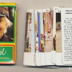 Jeux de cartes: BARAJA MIGUEL EL TRAVIESO. 32 CARTAS. HERACLIO FOURNIER 1977. Lote 223397467