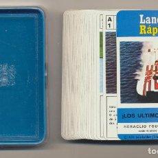 Barajas de cartas: BARAJA LANCHAS RÁPIDAS. LOS ÚLTIMOS MODELOS. HERACLIO FOURNIER 1976. Lote 223397477
