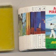 Barajas de cartas: MINI BARAJA FOURNIER Nº 8. ARTES MARCIALES. AÑO 1978. Lote 223397491