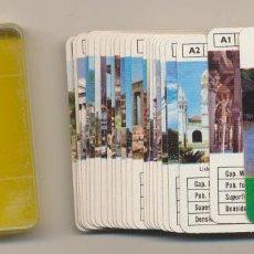 Barajas de cartas: MINI BARAJA FOURNIER Nº 7. PAÍSES DEL MUNDO. AÑO 1978. Lote 223397497