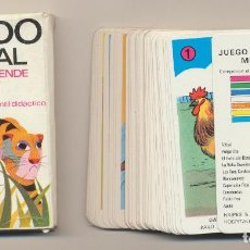 Jeux de cartes: BARAJA MUNDO ANIMAL. COMAS. Lote 223397515