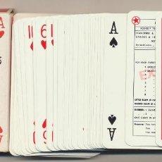 Barajas de cartas: BARAJA WALT DISNEY. 55 CARTAS. REVERSO EL PATO DONALD. PIATNIK-VIENA. Lote 223397521