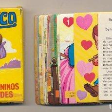 Jeux de cartes: BARAJA JUEGO INFANTIL MARCO, DE LOS APENINOS A LOS ANDES. 33 CARTAS. A. SALDAÑA 1976. Lote 223397532