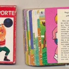 Jeux de cartes: BARAJA YO DEPORTE. 33 CARTAS. A. SALDAÑA 1975. Lote 223397552