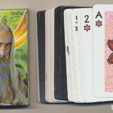 Barajas de cartas: BARAJA EL SEÑOR DE LOS ANILLOS. LA COMUNIDAD DEL ANILLO. 55 CARTAS. HERACLIO FOURNIER 2001. Lote 223397577
