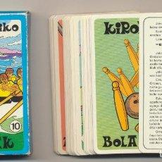 Barajas de cartas: BARAJA EUSKALERRIKO KIROLAK. AÑOS 70. RARA. Lote 223398051