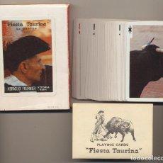 Barajas de cartas: BARAJA FIESTA TAURINA. 55 CARTAS. HERACLIO FOURNIER. Lote 223398055