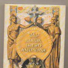 Barajas de cartas: BARAJA EXPOSICIÓN IBERO AMERICANA. HERACLIO FOURNIER REEDICIÓN DE 1973. Lote 223398066