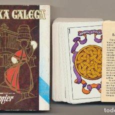 Jeux de cartes: BARAXA GALEGA. BARAJA GALLEGA. HERACLIO FOURNIER 1982. Lote 223398127