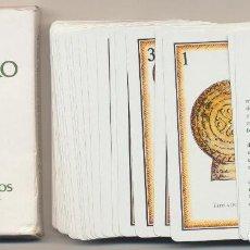 Jeux de cartes: BARAJA ESPAÑOLA. NAIPE CÁNTABRA. 40 CARTAS. CAJA DE AHORROS DE SANTANDER Y CANTABRIA. 1981. Lote 223398132