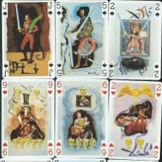 Barajas de cartas: BARAJA DOBLE POKER TAROT DALI-AÑO 1984. Lote 223401418