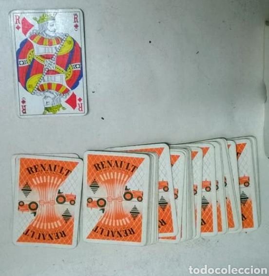 BARAJA CARTAS RENAULT (Juguetes y Juegos - Cartas y Naipes - Barajas de Póker)