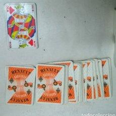 Barajas de cartas: BARAJA CARTAS RENAULT. Lote 223529176