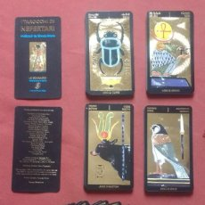 Barajas de cartas: TAROT EGIPCIO - NEFERTARI.. Lote 223548998